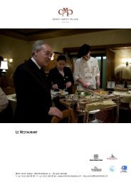 Le Restaurant - Seiler Hotels Zermatt