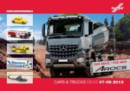 CARS & TRUCKS NEWS 07-08 2013 - Herpa