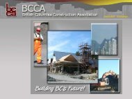 BCCA Members - Vancouver Board of Trade
