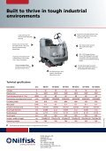 Nilfisk Ride-on scrubber/dryers - Page 4