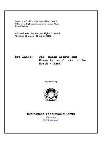 in PDF - Tamil Nation & Beyond
