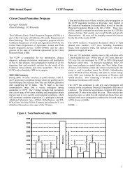 2006 Annual Report - Citrus Research Board