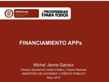 Michel Janna Gandur - Director General de Crédito Público y Tesoro ...