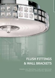 FLUSH FITTINGS & WALL BRACKETS - WF Senate