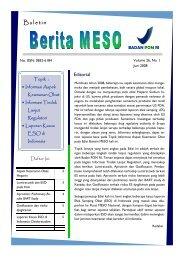 Buletin - Informasi Obat - Badan POM