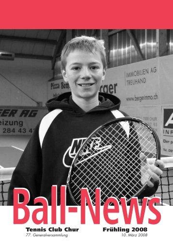 Tennis Club Chur Frühling 2008