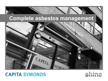 Complete asbestos management - Capita Symonds