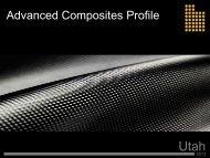 Utah Advanced Composites Profile - Economic Development ...