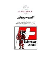 Schwyzerstübli So 11 - Seiler Hotels Zermatt
