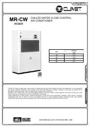 acqua chilled water close control air conditioner - BTK