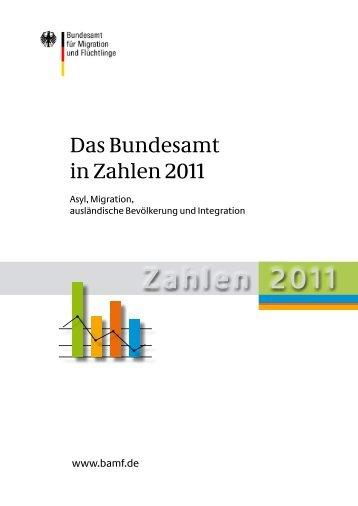 Das Bundesamt in Zahlen 2011 - BAMF