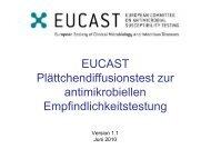 15 Minuten - eucast
