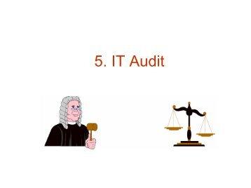 5. IT Audit - tud.ttu.ee