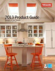 2013 Product Guide - Velux