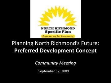 Community Meeting No 2 Presentation - North Richmond Plan