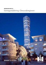 Företagsetablering i Öresundsregionen - Malmobusiness.com