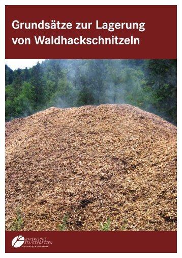 Grundsätze zur Lagerung von Waldhackschnitzeln