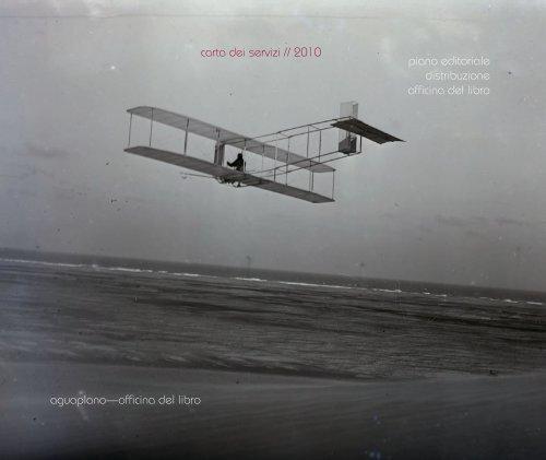 aguaplano—officina del libro carta dei servizi // 2010