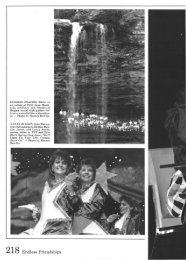 218 Endless Friendships - Harding University Digital Archives