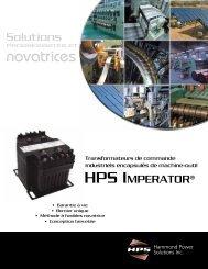 novatrices - Hammond Power Solutions