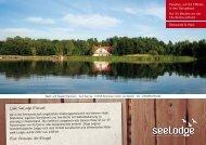 Informationen Hotel und Gastronomie - SeeLodge