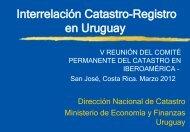 Avances en la Interrelación Catastro y Registro Uruguay