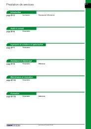 Prestation de services - e-Catalogue - Schneider Electric