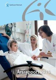 Årsrapport 2010 - Sykehuset Telemark