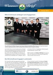 Wannsee Brief Januar/Februar 2012 - Der Golf- und Land-Club ...
