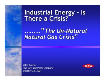 Is There a Crisis? - Industries of the Future - West Virginia