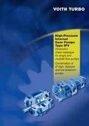High-Pressure Internal Gear Pumps Type IPV - Fluid Dynamics ...