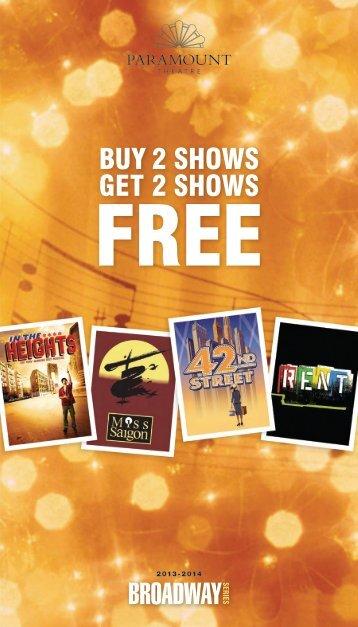 Season Brochure - The Paramount Theatre