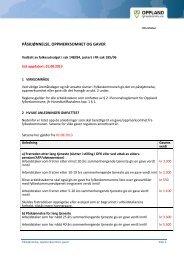 påskjønnelse, oppmerksomhet og gaver - Oppland fylkeskommune