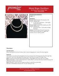 Metal Rope Necklace - Premier Yarns