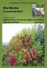 1 mal Kindergottesdienst live - Schwiegershausen