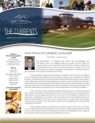 notE from thE gEnEral managEr - Cybergolf