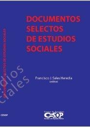 Documentos selectos de Estudios Sociales - Cámara de Diputados