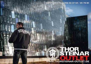 Bestelltelefon: 03 37 64 / 25 78 90 - Thor Steinar Kataloge