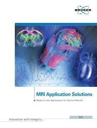 MRI Application Solutions - Bruker