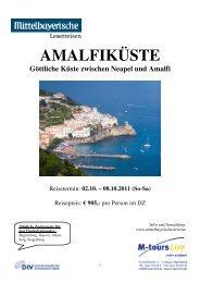 11 10 02 Reiseprogramm Amalfi