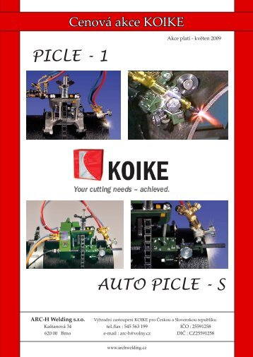 PICLE - 1 AUTO PICLE - S - ARC-H Welding sro