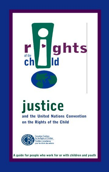 Justice - Canadian Coalition for the Rights of Children