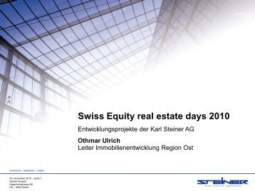 Andreaspark 2 - NZZ Equity Biotech Day