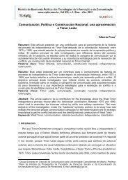 unha aproximación a timor leste - Sistema Eletrônico de Editoração ...