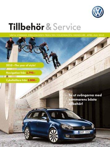 Tillbehör & service - Servicecenter