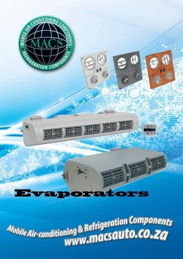 Evaporator Catalogue - MACS