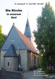 Die Kirche - Schwiegershausen