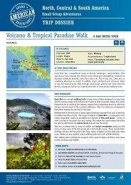 Volcano & Tropical Paradise Walk - Adventure holidays