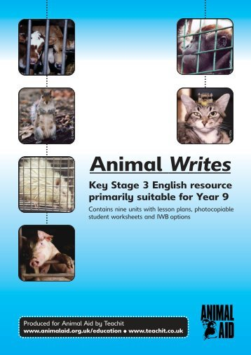 English Resource Booklet 2 - Animal Aid