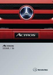 Actros 3336 B 6x4 - Mercedes Benz